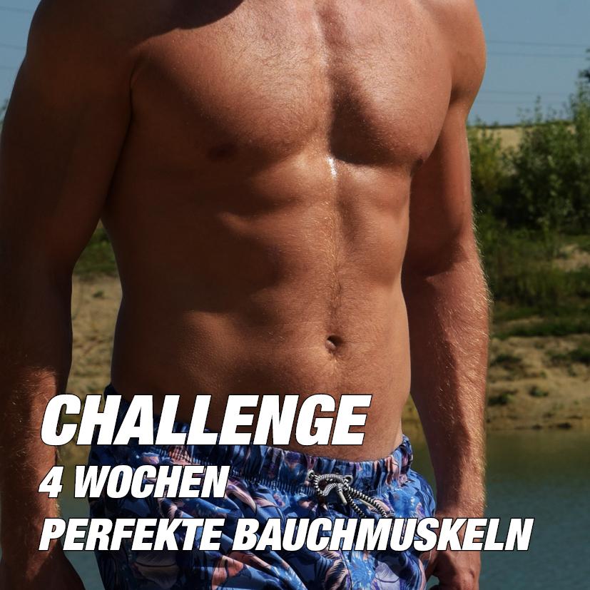 4 Wochen Bauch Challenge